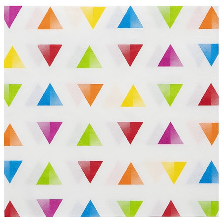 It's Party Time 2 Ply Confetti Lunch Napkin - 16 ea