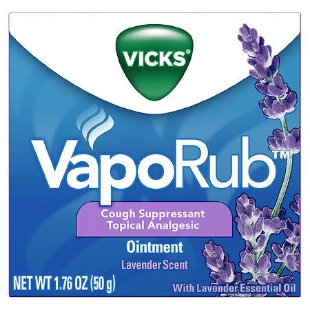 Vicks VapoRub Lavender, Lavender - 1.76 oz.