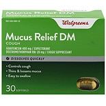 Walgreens Mucus Relief DM Softgels