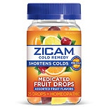 Zicam Cold Remedy Medicated Drops Fruit