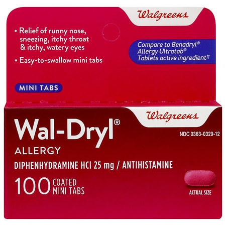 Walgreens Allergy Mini-Tabs - 1 ea