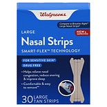 Walgreens Nasal Strips Large Tan