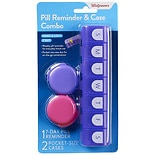 Walgreens Home & Away Pill Reminder & Case Combo