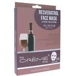 The Creme Shop Resveratrol Sheet Face Mask 5pc Collection