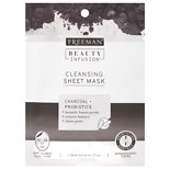 Beauty Infusion CLEANSING Charcoal & Probiotics Sheet Mask