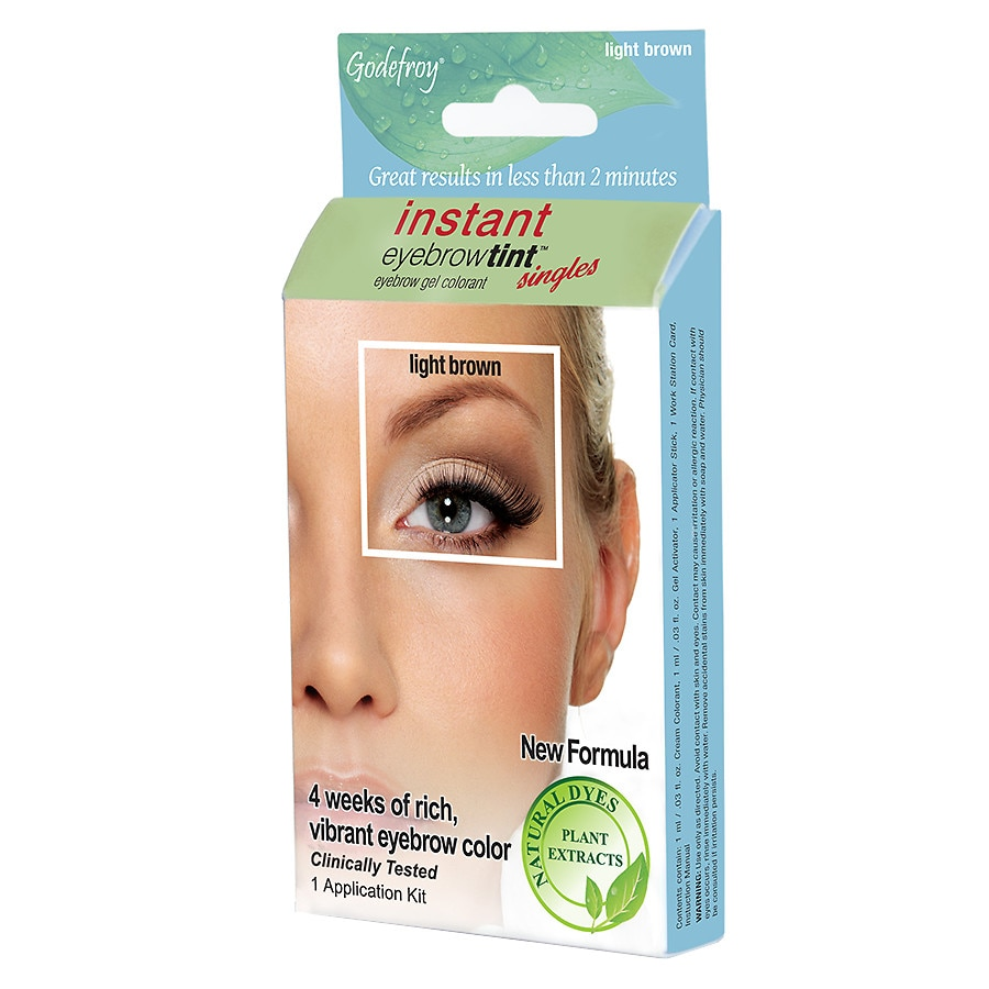Godefroy Instant Eyebrow Tint Botanical Single Application Eyebrow
