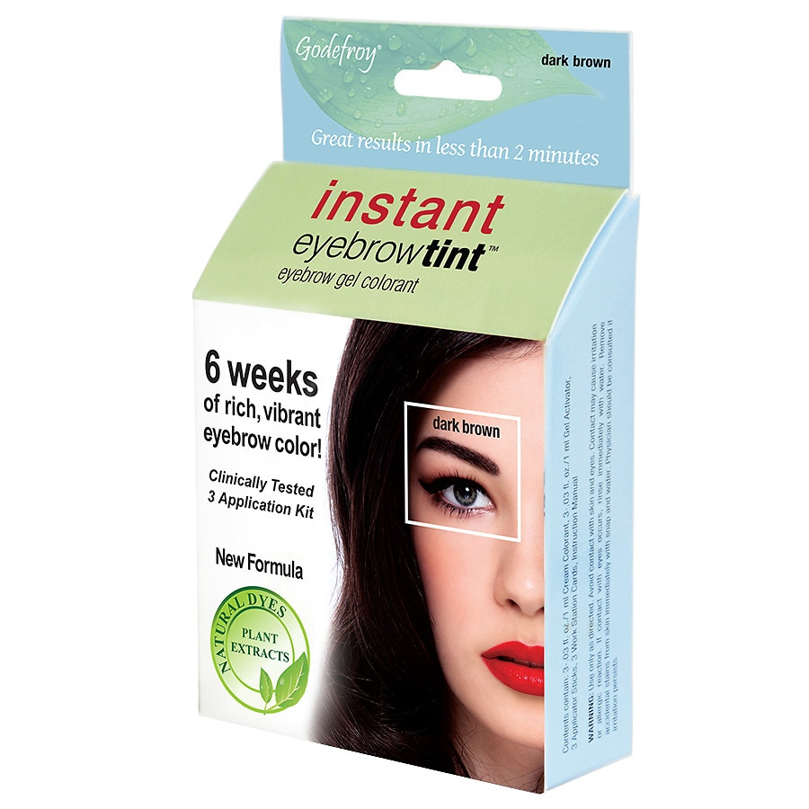 Godefroy Instant Eyebrow Tint Botanical 3 Application Eyebrow Gel