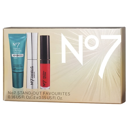 No7 Stand Out Favorites Gift Box - 0.08 oz.