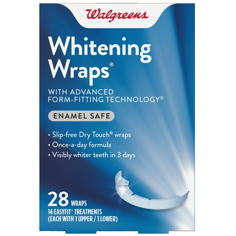 Walgreens Xtreme Whitening Wraps 14 Day Treatment Walgreens