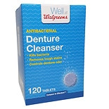 Walgreens Denture Cleanser Tablets