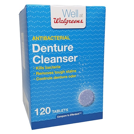 Walgreens Denture Cleanser Tablets - 120 ea