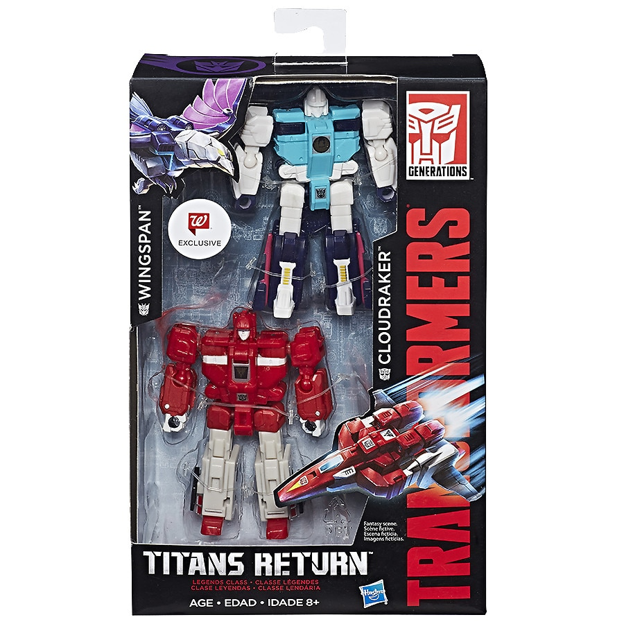 Organic Beauty Products >> Transformers Generations Clones 2-figure Pack | Walgreens