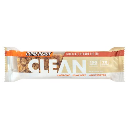 Come Ready Clean Peanut Butter Bar Chocolate Peanut Butter - 1.23 oz.