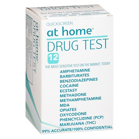 Our Drug Tests are cleared for over the.