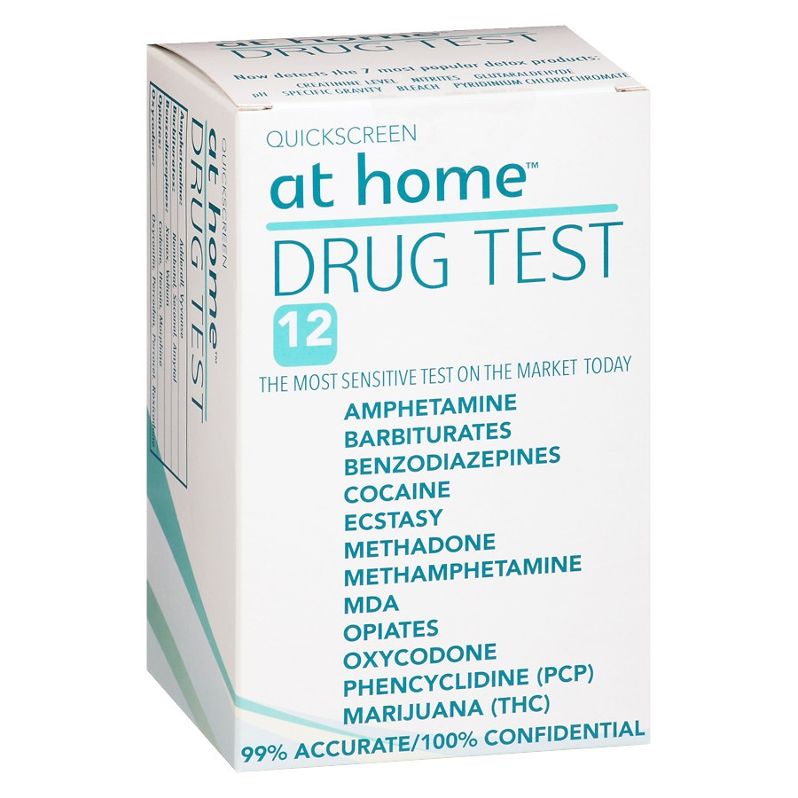 At Home Drug Test 12 Panel Walgreens