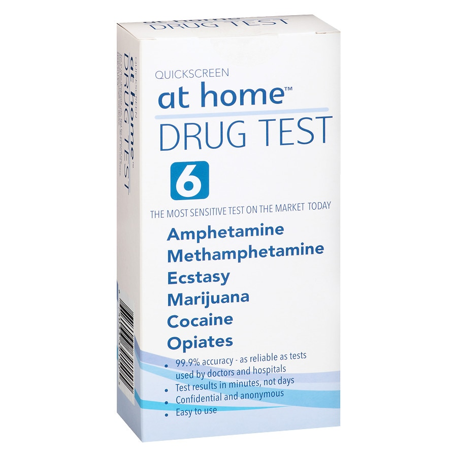 6b34a1d223 At Home Drug Test 6 Panel1.0 ea