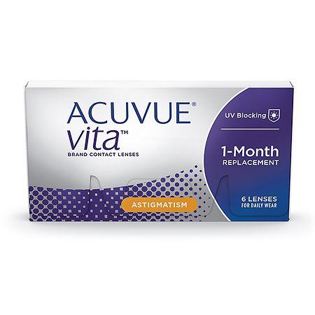 Acuvue Vita for Astigmatism 6 Pk Acuvue Vita for Astigmatism - 1 Box