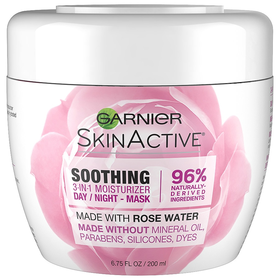 Garnier SkinActive3-in-1 Face Moisturizer with Rose Water 6.8oz
