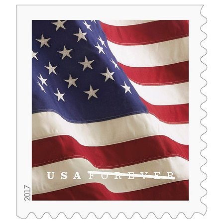 USPS 2017 Flag Stamps Booklet - 20 ea