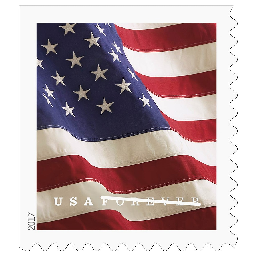 070db1b694d USPS 2017 Flag Stamps Booklet20.0 ea