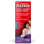 Children's TYLENOL Cold+Cough+Runny Nose Grape