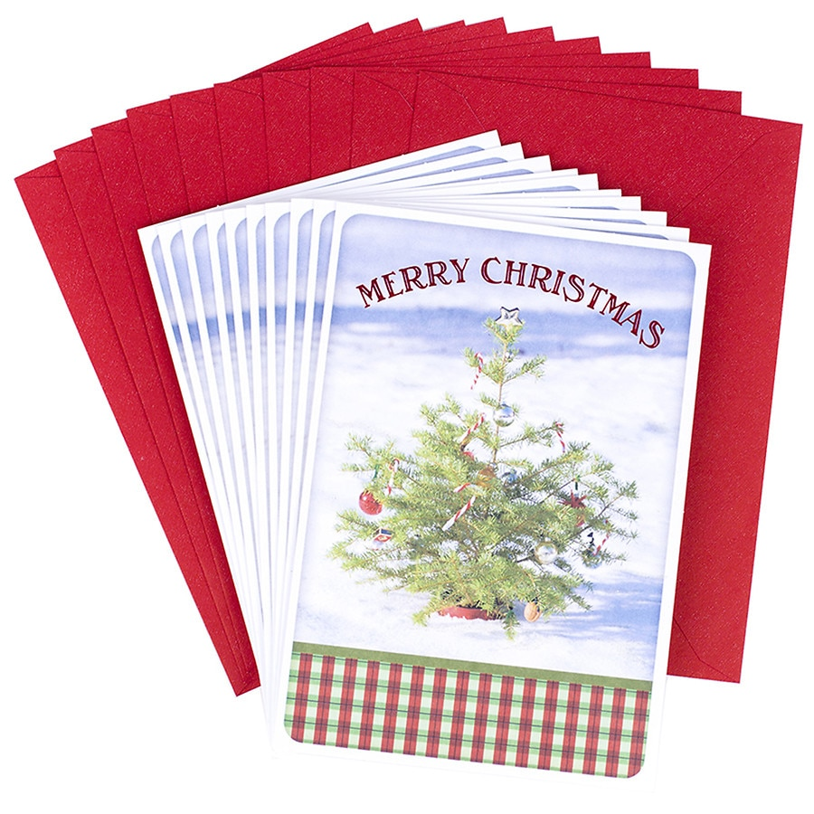 Hallmark Merry Christmas Greeting Cards Assortment (10 cards, 10 ...