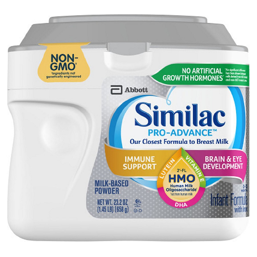 Similac Pro Advance Infant Formula With Iron Powder Makes