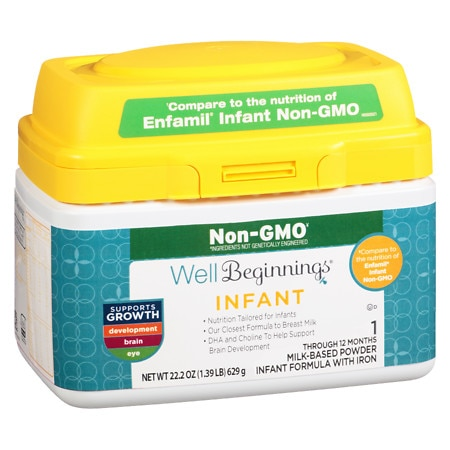 Well Beginnings Dual Prebiotic Non-GMO Infant Formula