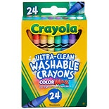 Crayola Washable Crayons Assorted Colors