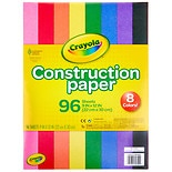 Crayola Construction Paper Assorted Colors