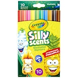 Crayola Silly Scents Fineline Washable Markers Assorted Scents Assorted Colors