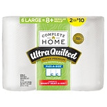 Complete Home Ultra Quilted Super Premium Paper Towels 6 ct