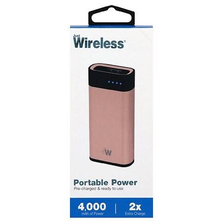 Just Wireless 4000 MAH Portable Power 4000 mAh - 1 Ea