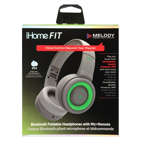 iHome Bluetooth Headphone Sport IPX4 with Melody - 1 ea