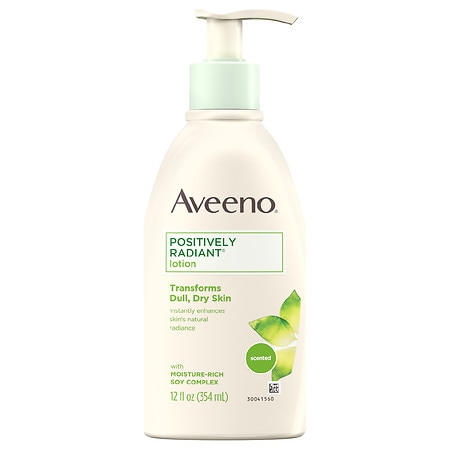 Aveeno Daily Moisturizing Body Lotion With Moisture-Rich Soy For Everyday Dry Skin Care - 12 fl oz