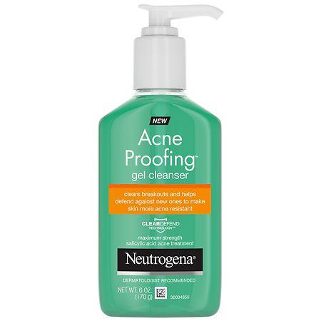 Neutrogena Acne Proofing Gel Cleanser - 6 oz.