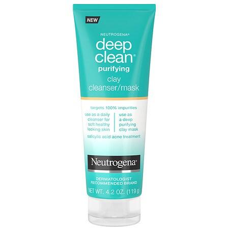 Neutrogena Deep Clean Clay Cleanser Mask - 4.2 oz.