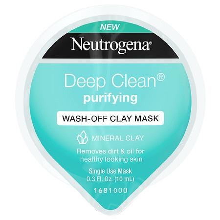 Neutrogena Deep Clean Purifying Wash Off Clay Mask - 0.33 oz.