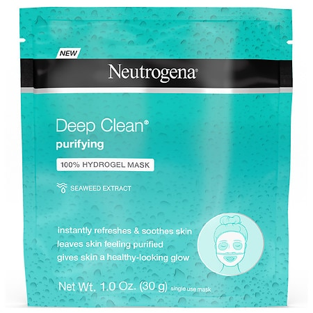 Neutrogena Deep Clean Purifying 100% Hydrogel Mask - 1 ea