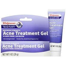 Walgreens Acne Treatment Gel Walgreens