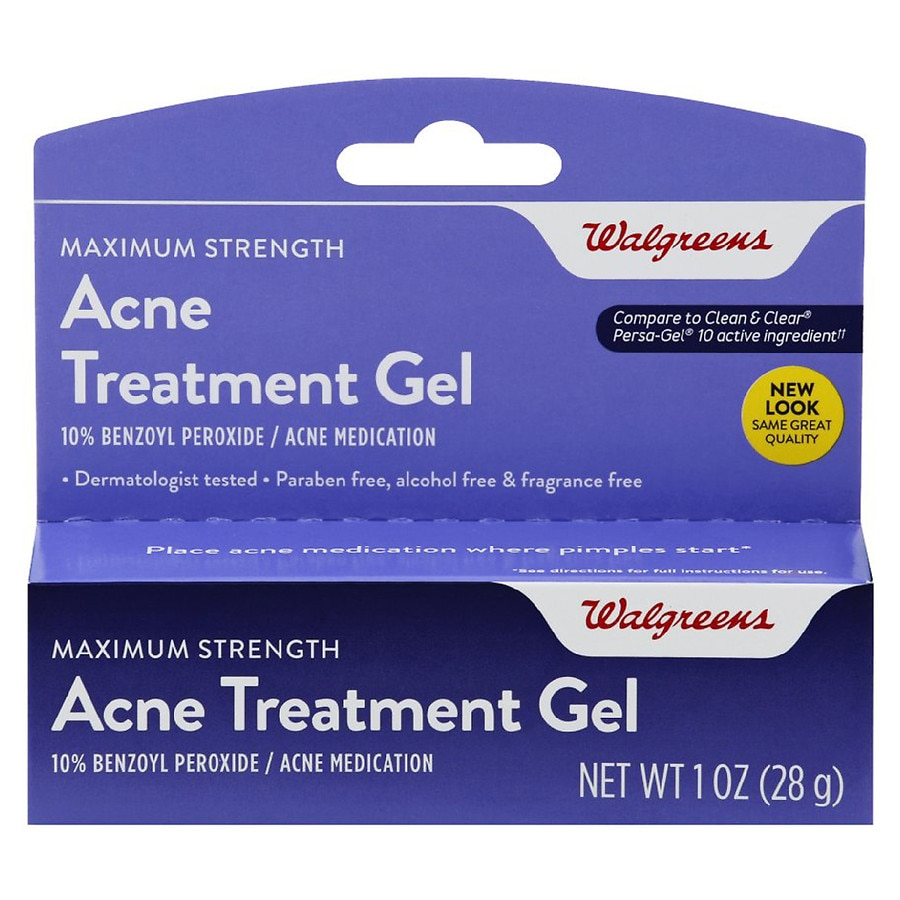 Walgreens Acne Treatment Gel Walgreens
