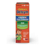 Delsym Children's Cough Plus DM Cough Suppressant Cherry
