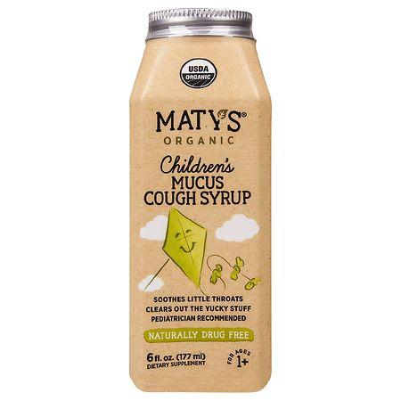 Maty's Organic Children's Mucus Cough Syrup - 6 fl oz