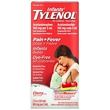 Children's TYLENOL Infants' Oral Suspension Dye-Free Cherry
