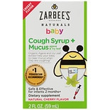 ZarBee's Naturals Baby Cough/ Mucus Relief Cough Syrup Cherry