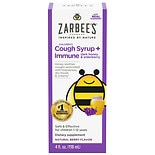 ZarBee's Naturals Children's Cough Plus Immune Support Cough Syrup Berry