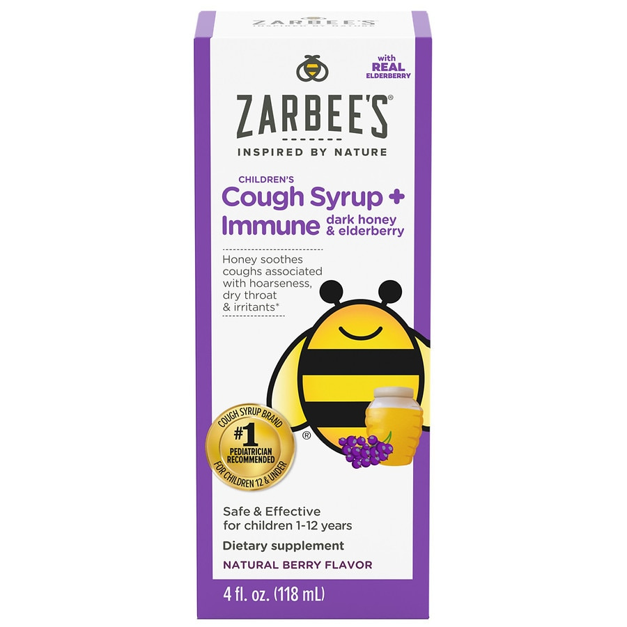 Zarbee S Naturals Children S Cough Plus Immune Support
