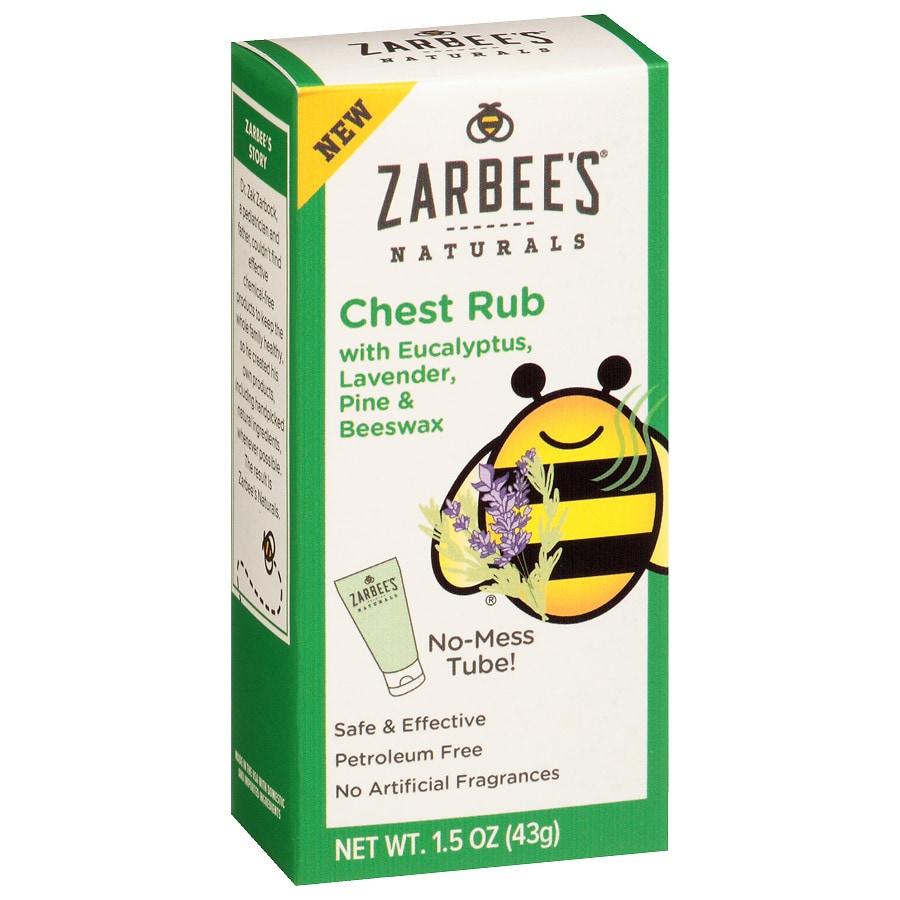 Zarbee S Naturals Children S Chest Rub Eucalyptus Walgreens