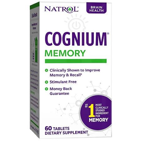 Natrol Cognium 100 mg Tablets - 60 ea