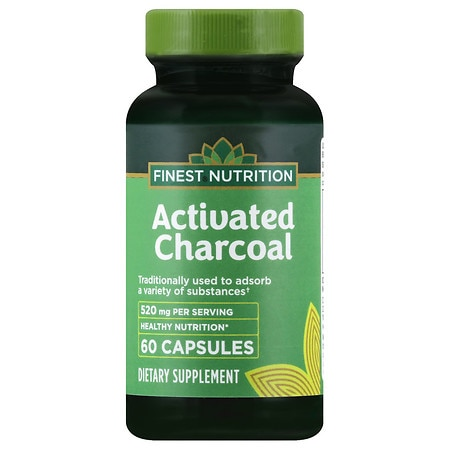 Finest Nutrition Activated Charcoal 260 mg - 60 ea